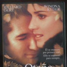 Cine: OTOÑO EN NUEVA YORK. Lote 22827259