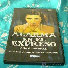 Cine: DVD SUSPENSE-ALARMA EN EL EXPRESO-ALFRED HITCHCOCK. Lote 25668775