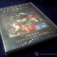Cine: HISTORIA DEL FUTBOL. UN JUEGO DE PASIONES. ORIGENES. CULTURAS DEL FUTBOL. DVD. Lote 23179299