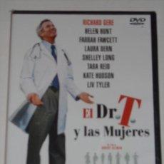 Cine: DVD EL DR. T Y LAS MUJERES DIRIGIDA POR ROBERT ALTMAN, CON RICHARD GERE. Lote 27093086