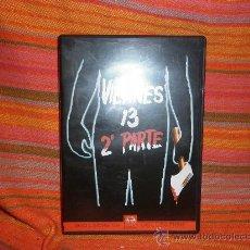 Cine: VIERNES 13---2 DVD ORIGINAL TERROR. Lote 23368674