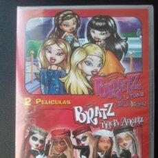 Cine: BRATZ - ESTRELLAS DE LA MODA - ROCK ANGELZ - 2 PELICULAS - DVD. Lote 27076096