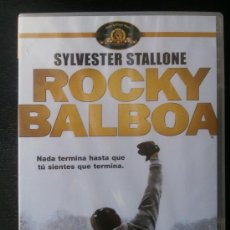 Cine: ROCKY BALBOA - SILVESTER STALLONE - DVD. Lote 26891841