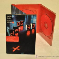 Cine: DEPECHE MODE - VIDEO 86/98 DOBLE DVD. Lote 23789679