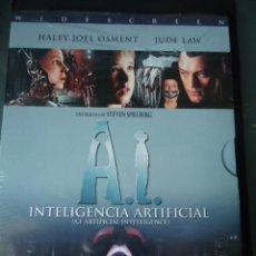 Cine: A.I. INTELIGENCIA ARTIFICIAL, (STEVEN SPIELBERG) DVD EDICION DIGIPAK 2 DISCOS SIN DESPRECINTAR. Lote 26945709