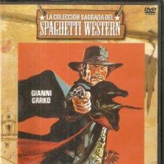 Cine: DVD SPAGHETTI WESTERN LLEGA SARTANA GIANNI GARKO SUSAN SCOTT MASSIMO SERATO. Lote 24071620