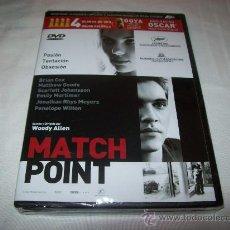 Cine: DVD MATCHPOINT - WOODY ALLEN - 4 GLOBOS DE ORO - PRECINTADA. Lote 24111180
