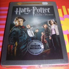 Cine: HARRY POTTER Y EL CÁLIZ DE FUEGO (EDICIÓN 2 DVD EN CAJA METÁLICA STEELBOOK) ¡NUEVO Y PRECINTADO!. Lote 44972416