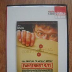 Cine: MICHAEL MOORE - FARENHEIT 9/11 . Lote 24566510