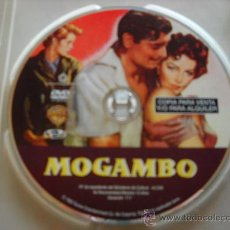 Cine: MOGAMBO, POR CLARK GABLE, AVA GARDNER Y GRACE KELLY. COLOR AVENTURAS AFRICANAS. DE JOHN FORD.. Lote 26207212