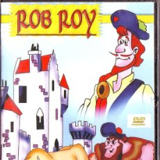 Cine: UXD ROB ROY DVD VIDEO COMPATIBLE DIBUJOS ANIMADOS 60 MINUTOS PRECINTADO. Lote 26261506