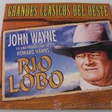 Cine: RIO LOBO - JOHN WAYNE - HOWARD HAWKS - DVD - COMO NUEVO. Lote 25388292