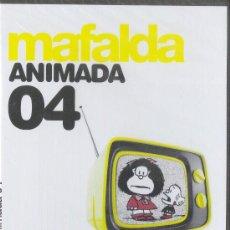 Cine: MAFALDA ANIMADA 04 DVD NUEVO, PRECINTADO 2009. Lote 25569508