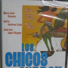 Cine: DVD LOS CHICOS DEL PREU -KARINA -CAMILO SEST-JL.LOPEZ VAZ-CINE ESPAÑOL1967-DIVISA2008-NUEVA-PRECINTA. Lote 31455302