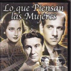 Cine: == DVD64 - LO QUE PIENSAN LAS MUJERES - MERLE OBERON / MELVYN DOUGLAS. Lote 25696498