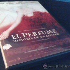 Cine: EL PERFUME. HISTORIA DE UN ASESINO. DVD DE LA PELICULA DE TOM TYKWER. CON ALAN RICKMAN.... Lote 26107488