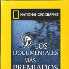 Cine: UXD NACIONAL GEOGRAPHIC LOS DOCUMENTALES MAS PREMIADOS 12 DVD VOLCANES ASTEROIDES ORCAS SAHARA. Lote 26418883