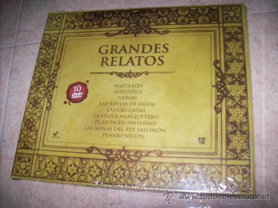 10 DVDS GRANDES RELATOS - PRECINTADO - CAJA ESPECIAL - NAPOLEON , AUGUSTUS , NERON , BRUJAS DE SALEM (Cine - Películas - DVD)
