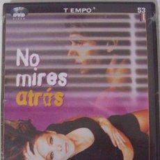Cine: DVD NO MIRES ATRAS. Lote 26707283