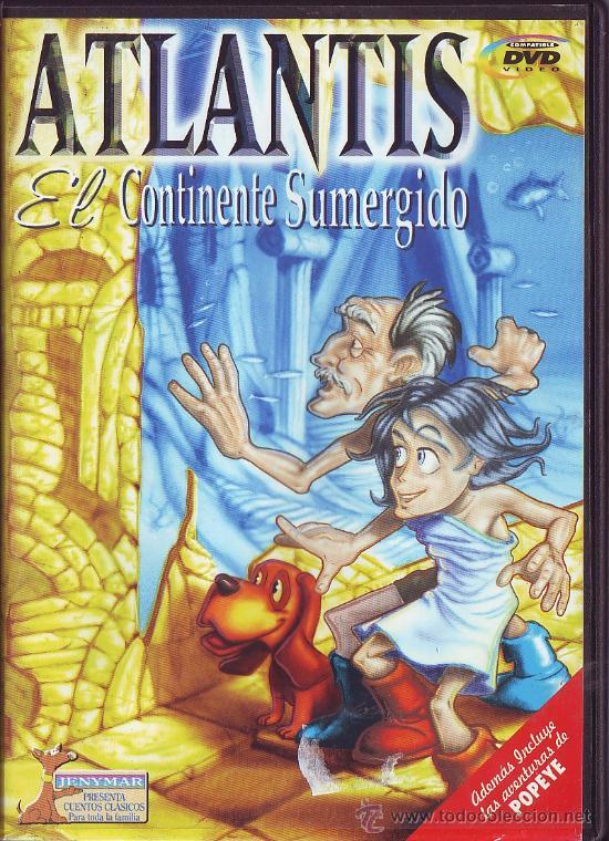 Cine: UXD AVENTURAS POPEYE Y ATLANTIS EL CONTINENTE SUMERGIDO DVD ANIMACION INFANTIL CUENTOS CLASICOS - Foto 2 - 50399188
