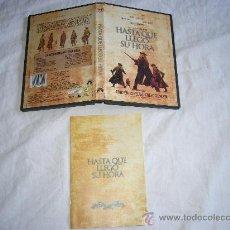 Cine: HASTA QUE LLEGO SU HORA HENRY FONDA CLAUDIA CARDINALE BRONSON LEONE DVD ORIGINAL EDICION 2 DISCOS. Lote 27752246