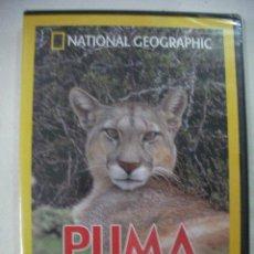 Cine: EL PUMA EL LEON DE LOS ANDES DE NATIONAL GEOGRAPHIC NUEVO PRECINTADO. Lote 33781531