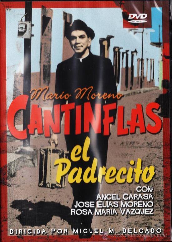DVD - EL PADRECITO - CANTINFLAS / MARIO MORENO - DUR. 125 MN - R