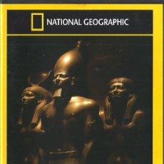 Cine: UXD NATIONAL GEOGRAPHIC EGIPTO LOS SECRETOS DE LOS FARAONES DVD DOCUMENTAL PIRAMIDES TEMPLO NACIONAL. Lote 28084595