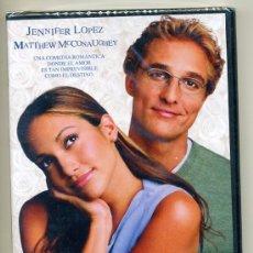 Cine: DVD PRECINTADO - PLANES DE BODA - JENNIFER LOPEZ / MATTHEW MCCONAUGHEY. Lote 28127228