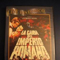 Cine: DVD: LA CAÍDA DEL IMPERIO ROMANO. Lote 28360543