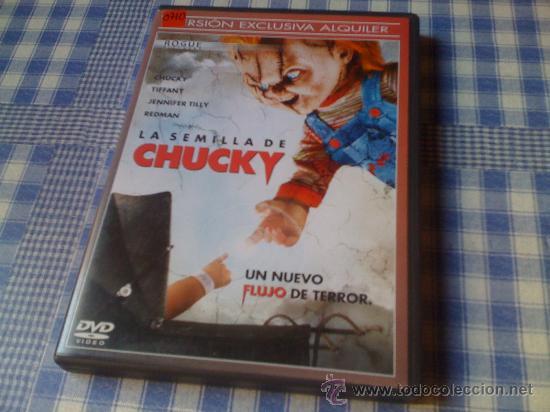 LA SEMILLA DE CHUCKY (EL MUÑECO DIABÓLICO) - PELÍCULA EN DVD - CINE DE TERROR MIEDO MONSTRUOS (Cine - Películas - DVD)
