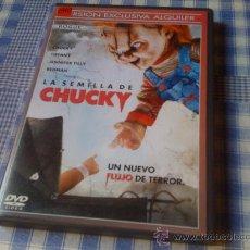 Cine: LA SEMILLA DE CHUCKY (EL MUÑECO DIABÓLICO) - PELÍCULA EN DVD - CINE DE TERROR MIEDO MONSTRUOS. Lote 28458000