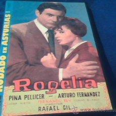 Cine: ROGELIA. DVD DE LA PELICULA DE RAFAEL GIL, CON ARTURO FERNANDEZ Y PINA PELLICER.. Lote 171051288