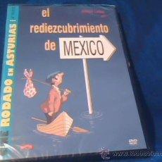 Cine: EL REDIEZCUBRIMIENTO DE MEXICO. DVD DE LA PELICULA DE ALFREDO LANDA. DE LA COLECCION RODADO EN ASTUR. Lote 53843953