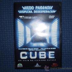 Cine: CUBE DVD DESCATALOGADO VINCENZO NATALI NICOLE DEBOER DAVID HEWLETT. Lote 28543527