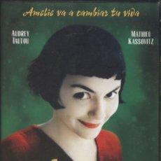 Cine: DVD AMELIE - JEAN-PIERRE JEUNET, AUDREY TAUTOU - OFERTAS DOCABO. Lote 28601310