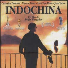 Cine: DVD INDOCHINA - REGIS WARGNIER, CATHERINE DENEUVE. Lote 28601322