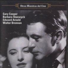 Cine: DVD JUAN NADIE - FRANK CAPRA, GARY COOPER, BARBARA STANWYCK. Lote 28609280