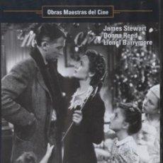 Cine: DVD ¡QUE BELLO ES VIVIR! - FRANK CAPRA, JAMES STEWART, DONNA REED. Lote 28609283