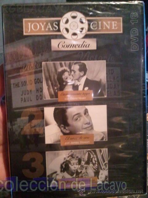 COLECCION DE JOYAS DEL CINE 3 PELICULAS CINE DE COMEDIA DVD 18 ABC (VER TITULOS EN LAS IMAGENES) (Cine - Películas - DVD)