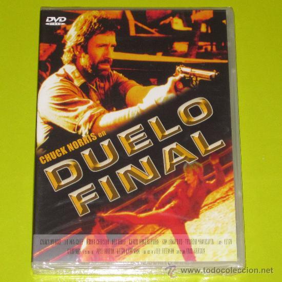 DVD.- DUELO FINAL - CHUCK NORRIS - PRECINTADA (Cine - Películas - DVD)