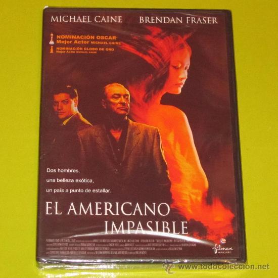 DVD.- EL AMERICANO IMPASIBLE - MICHAEL CAINE - PRECINTADA (Cine - Películas - DVD)