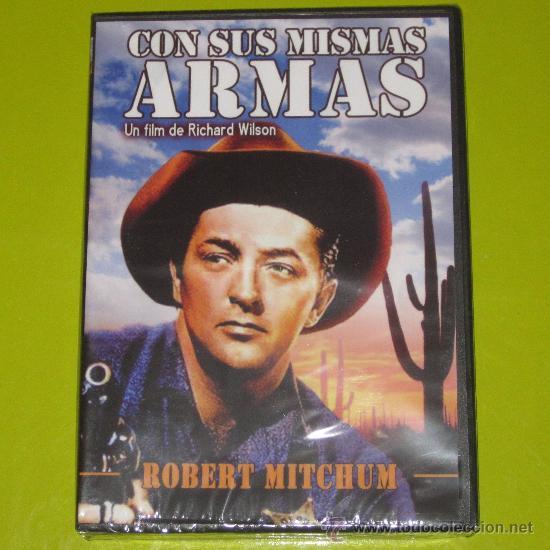 DVD.- CON SUS MISMAS ARMAS - ROBERT MITCHUM - DESCATALOGADA - PRECINTADA (Cine - Películas - DVD)