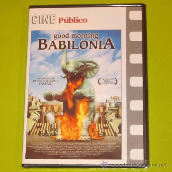DVD.- GOOD MORNING BABILONIA - HERMANOS TAVIANI - PRECINTADA (Cine - Películas - DVD)