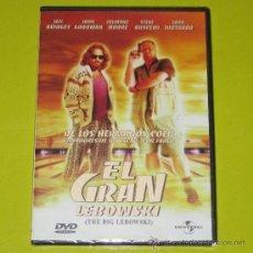 Cine: DVD.- EL GRAN LEBOWSKI - HERMANOS COEN - JEFF BRIDGES - DESCATALOGADA - PRECINTADA. Lote 28668797