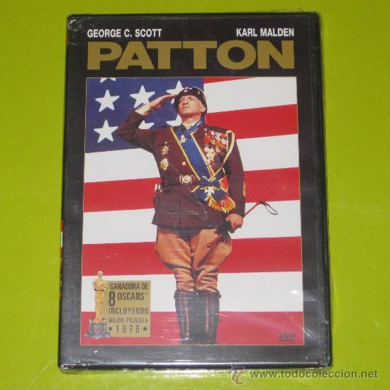 DVD.- PATTON - OSCAR MEJOR PELICULA 1970 - 8 OSCARS - PRECINTADA (Cine - Películas - DVD)