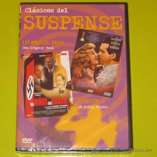 DOBLE DVD.- LOS NIÑOS DEL BRASIL + PERDICION - PRECINTADA (Cine - Películas - DVD)