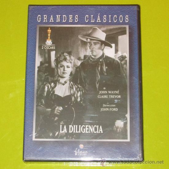 DVD.- LA DILIGENCIA - JOHN WAYNE - DESCATALOGADA - NUEVA (Cine - Películas - DVD)