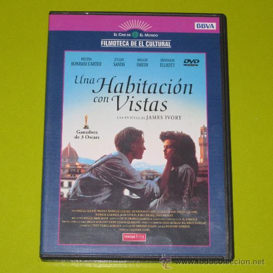 DVD.- UNA HABITACION CON VISTAS - 3 OSCARS - JAMES IVORY (Cine - Películas - DVD)
