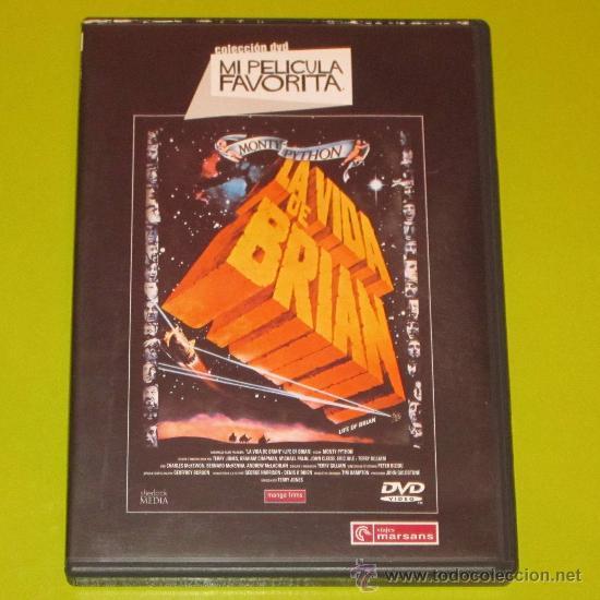 DVD.- LA VIDA DE BRIAN - MONTY PYTHON - DESCATALOGADA (Cine - Películas - DVD)